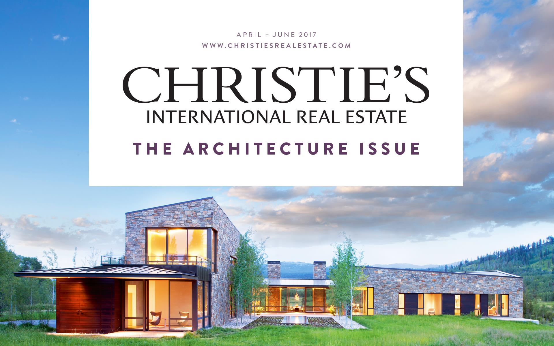 International property magazine - Christie S Has Just Released Their First International Real Estate Magazine For 2017 In Addition To A Collection Of Luxury Properties Around The World It